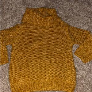 Zara Kids (girls)cowel neck sweater size 6/7 NWT